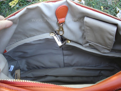 organizational handbag