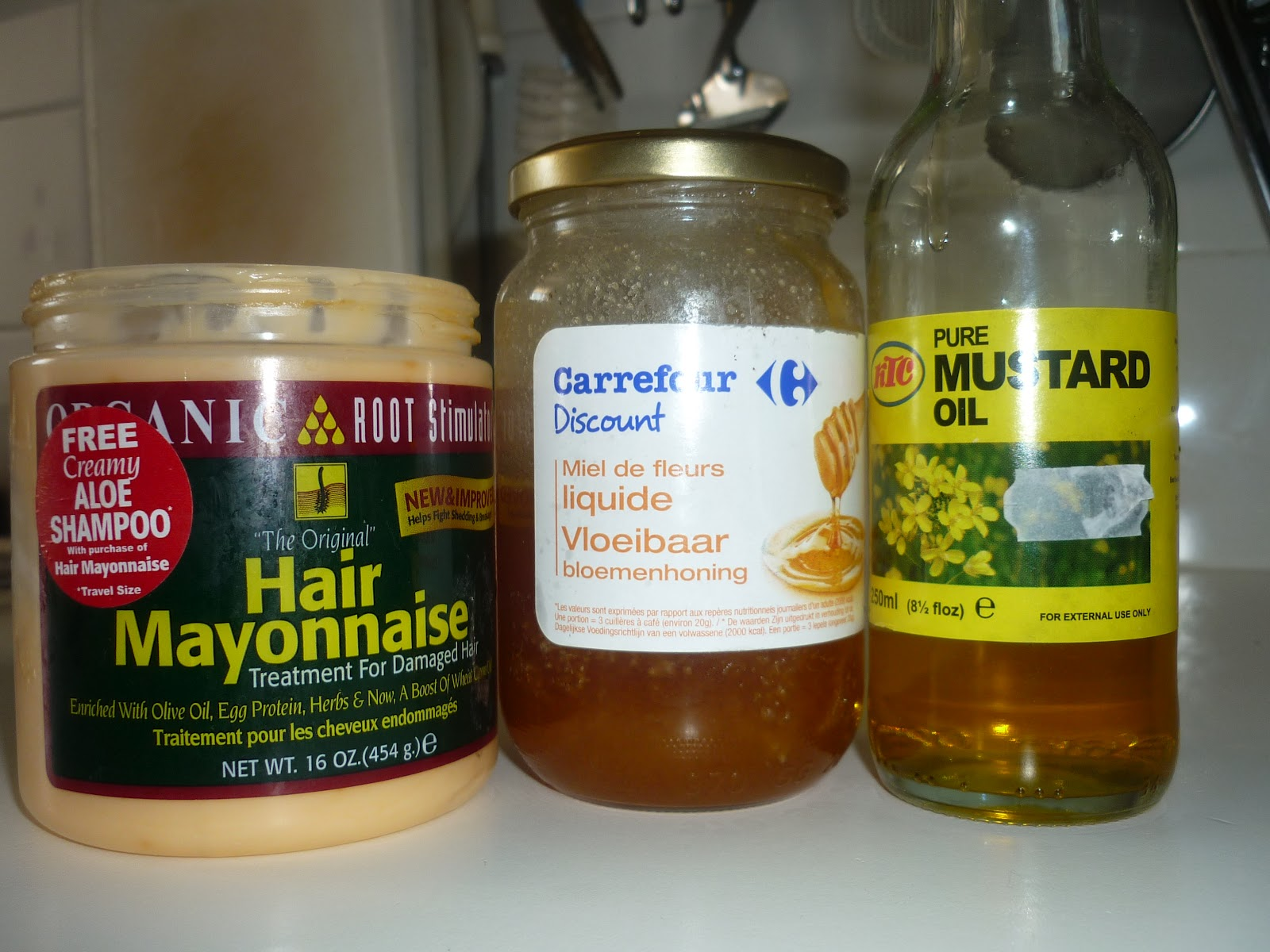 Le masque de moutarde pour les cheveux avec le kéfir