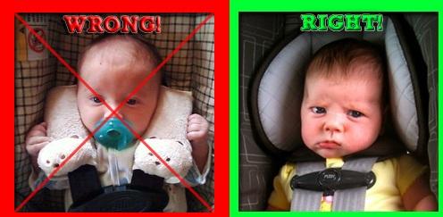 The Crunchy Mama Blog: Proper Car Seat Safety