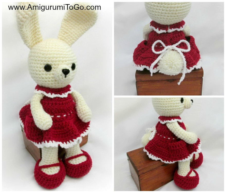 Carrot Dress For Dress Me Bunny Amigurumi To Go ...