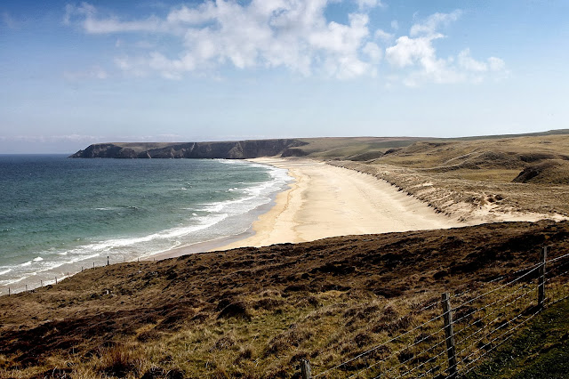 Lovely beach on northern tip of Lewis
