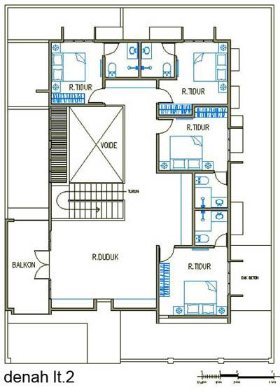 desain denah rumah minimalis 2 lantai rumahminim