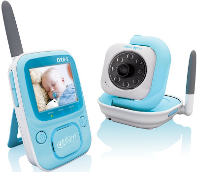 baby monitor app and screen