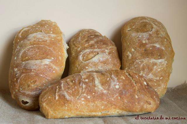 pan para bocadillos