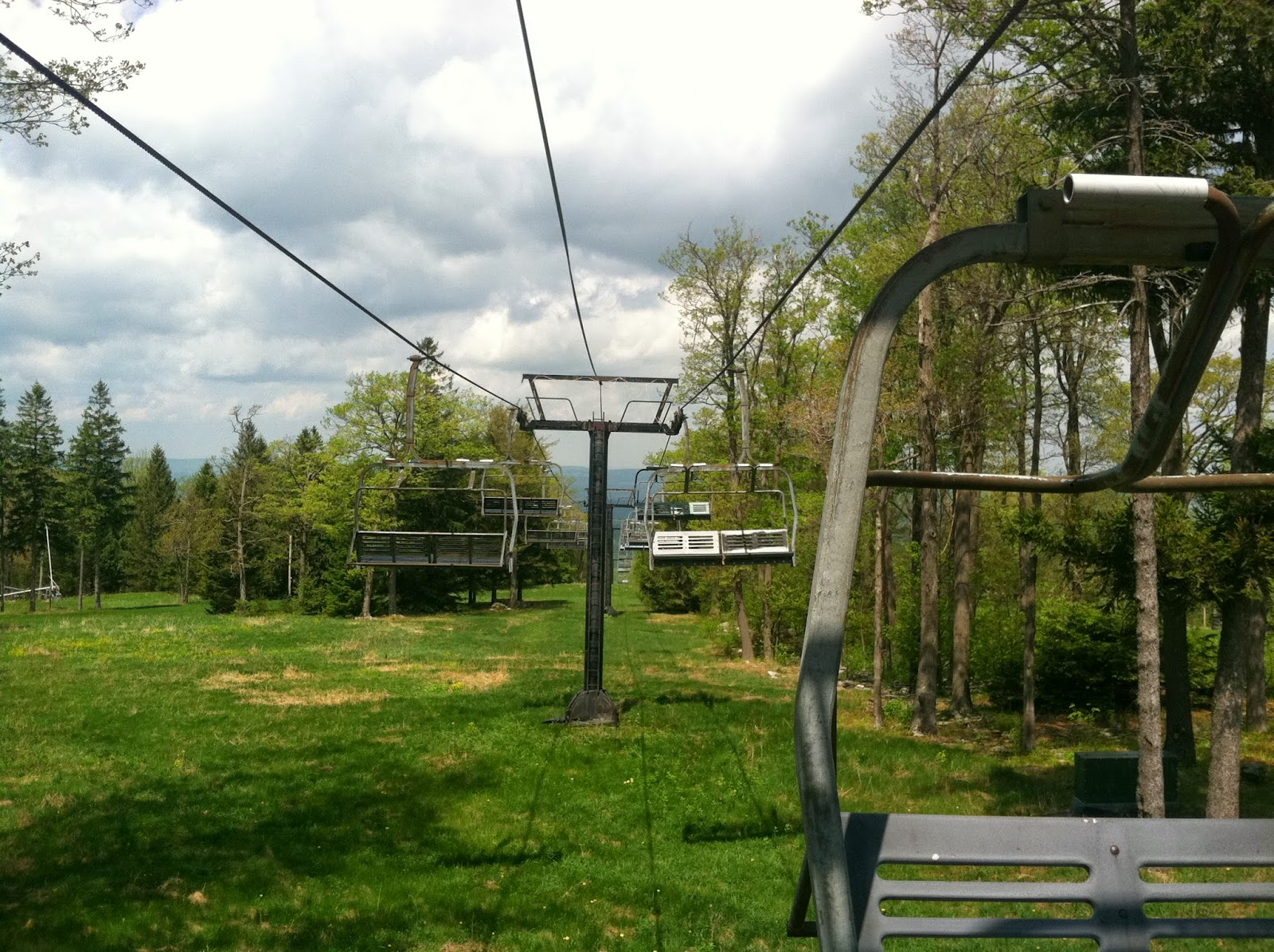 snow and jaggers: laurel mountain state park: the abandoned ski resort