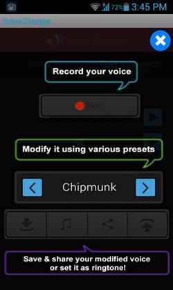 تطبيق Funny Voice Changer