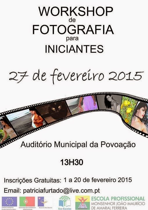 Workshop grátis de iniciação à fotografia – Povoação (Ilha de São Miguel)