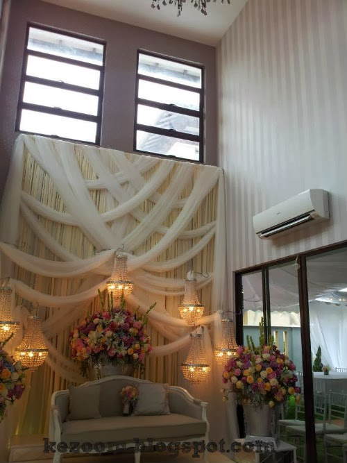 Gambar Cantik Hiasan Dalaman Rumah Fizo Omar & Mawar