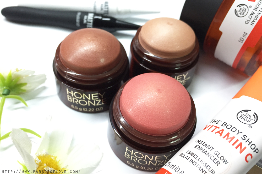 The Body Shop Honey Bronze Highlighting Domes