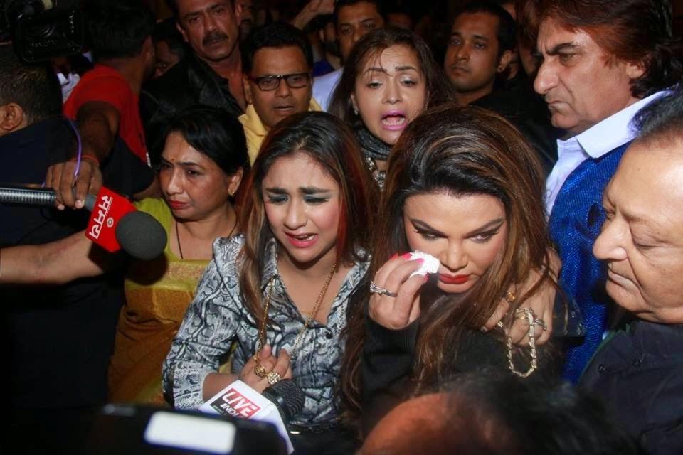 Rakhi Sawant's friend slaps the director at Mumbai Can Dance Saala Audio Launch