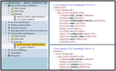sap idoc how to find the xml encoding site archive.sap.com
