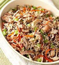 Mushroom-Wild Rice Stuffing