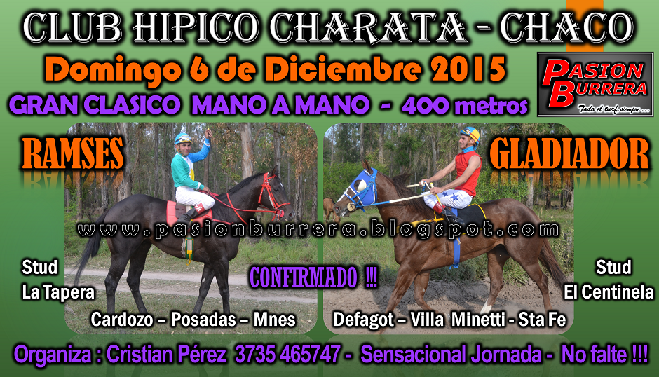 CHARATA - 6 DIC. - 400