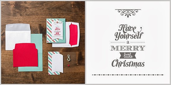Stampin' Up! Merry Little Christmas Simply Created Card Kit