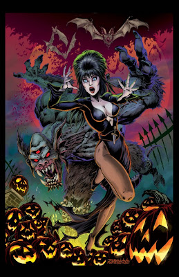 Cover of Elvira, Mistress of the Dark coming in 2013