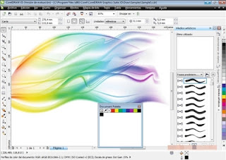 Screenshot CorelDRAW Graphics Suite X6