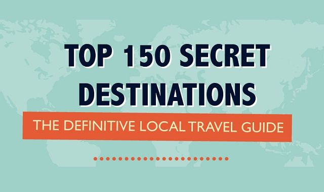 Image: Top 150 Secret Destinations #infographic