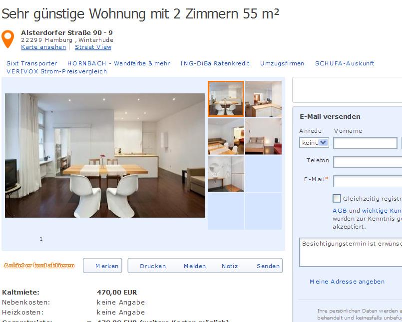 gem tliche wohnung f r 4 personen in augsburg gegen wohnungsbetrug against rental scammers. Black Bedroom Furniture Sets. Home Design Ideas