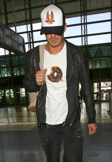 Wear It Like Beckham  David Beckham in Aurel Schmidt for Opening Ceremony 40e1fd96c5d