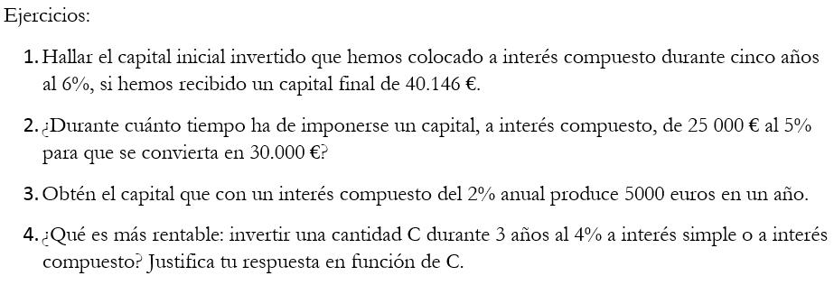 Tema 6. Proporcionalidad compuesta, repartos, porcentajes y interés ...