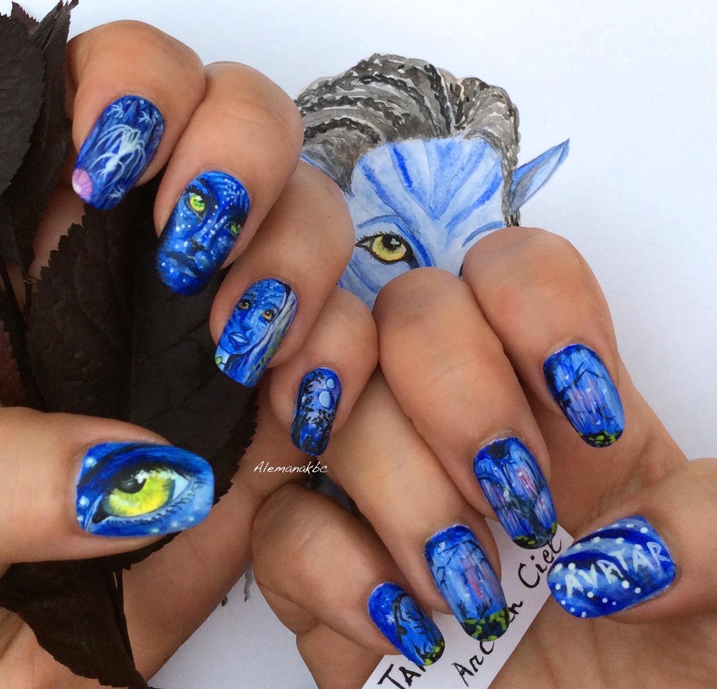 Q Riouser Q Riouser Nail Art: Nail Art By Alemanakbc