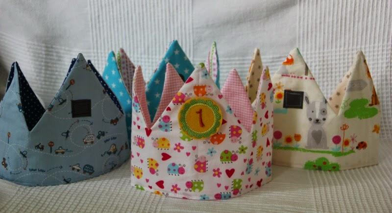 Knutselzwerg: Geburtstagskronen