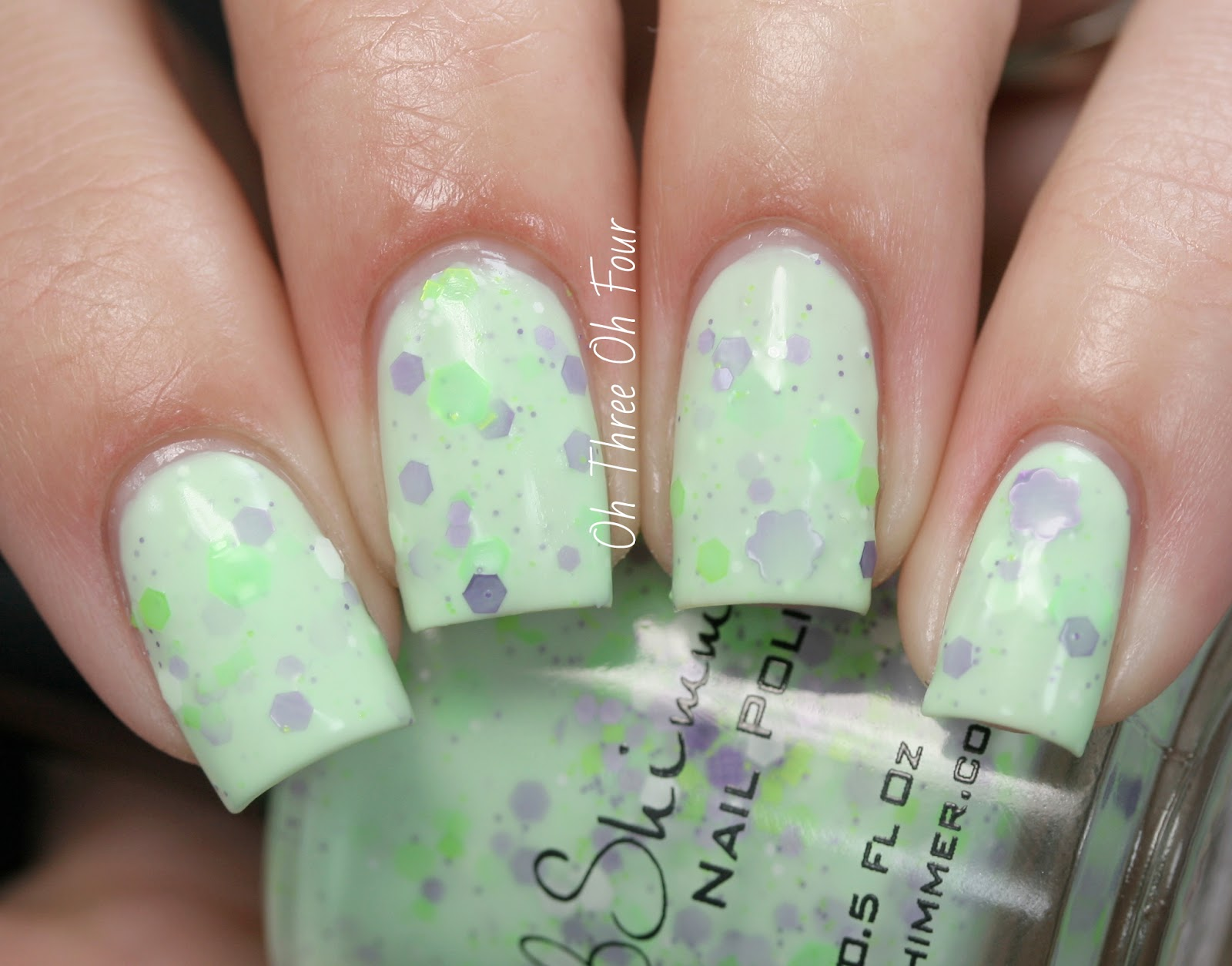 KBShimmer Daisy About You swatch