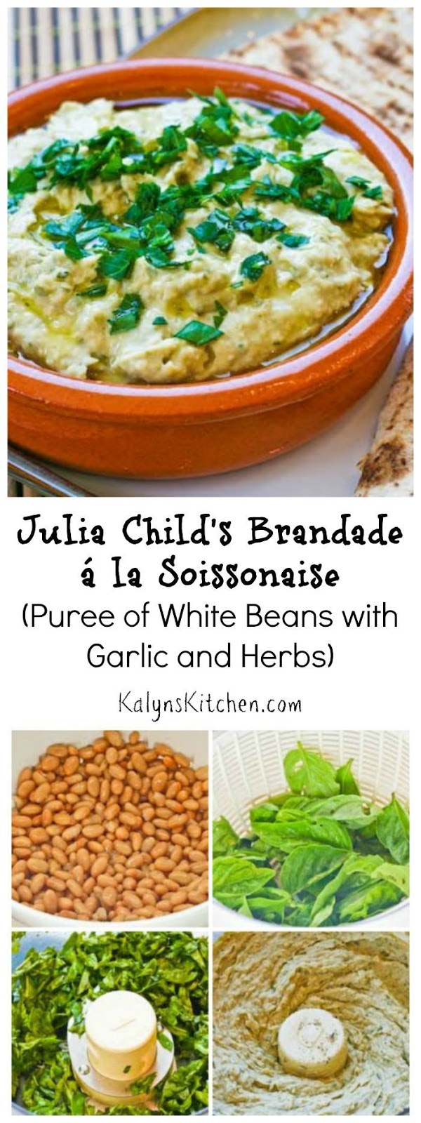 Brandade á la Soissonaise (Puree of White Beans with Garlic and Herbs ...