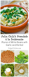 Julia Child's Brandade á  la Soissonaise (Puree of White Beans with Garlic and Herbs) [from KalynsKitchen.com]