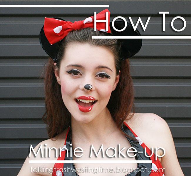 Minnie Mouse Cartoon Make-up
