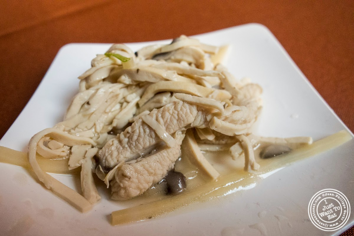 image of braised dried tofu shred at Taste of Asia 2014: Huaiyang cuisine cook off
