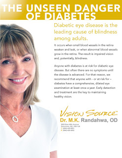 diabetes and eye health in Vancouver, BC