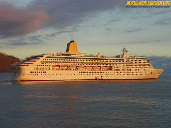 Remarkable Cruise Ship photos with WORLD WIDE SHIPSPOTTING