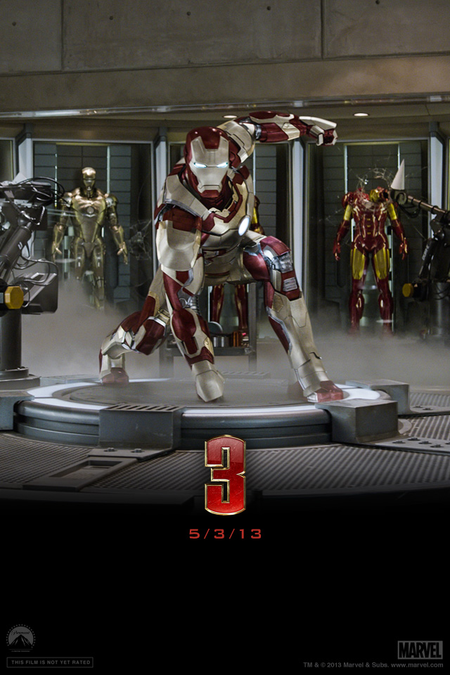 Iron Man 3 iPhone wallpaper 640x960 002