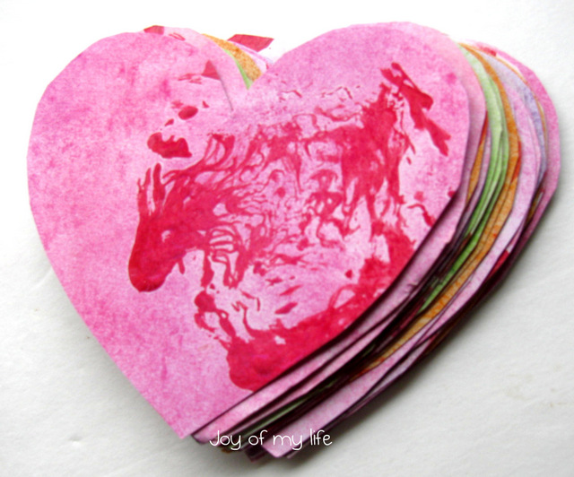 lettuce print valentine cards