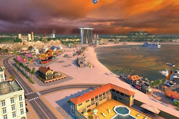 Screen Shot Of Tropico 4 Modern Times (2012) Full Pc Game Add On Free Download At World4ufree.Org