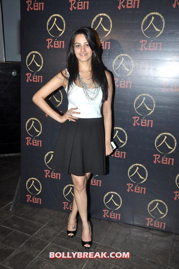 , Shazahn, Kim , Hasnandani, Sushma  At Launch Of 'ren' Club