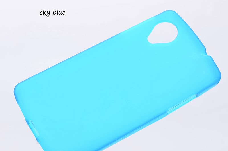 Soft Hybrid Thin Rough TPU Case Cover Skin for LG Google Nexus 5 7 Colors