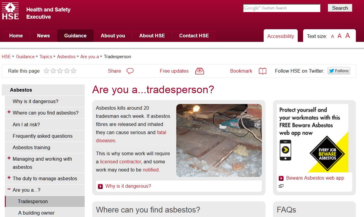www.beware-asbestos.info