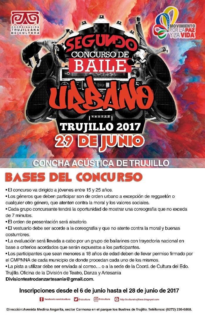 Concurso de Baile Urbano 2017