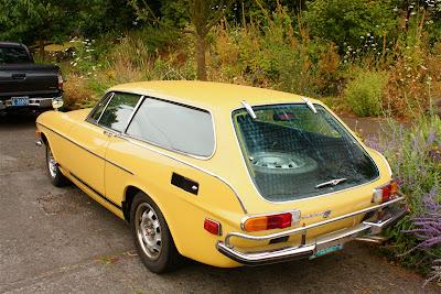 1973 Volvo 1800ES.
