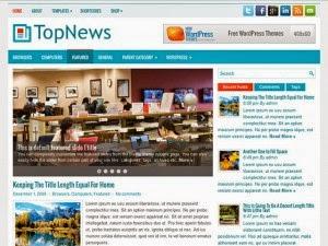 TopNews - Free Wordpress Theme