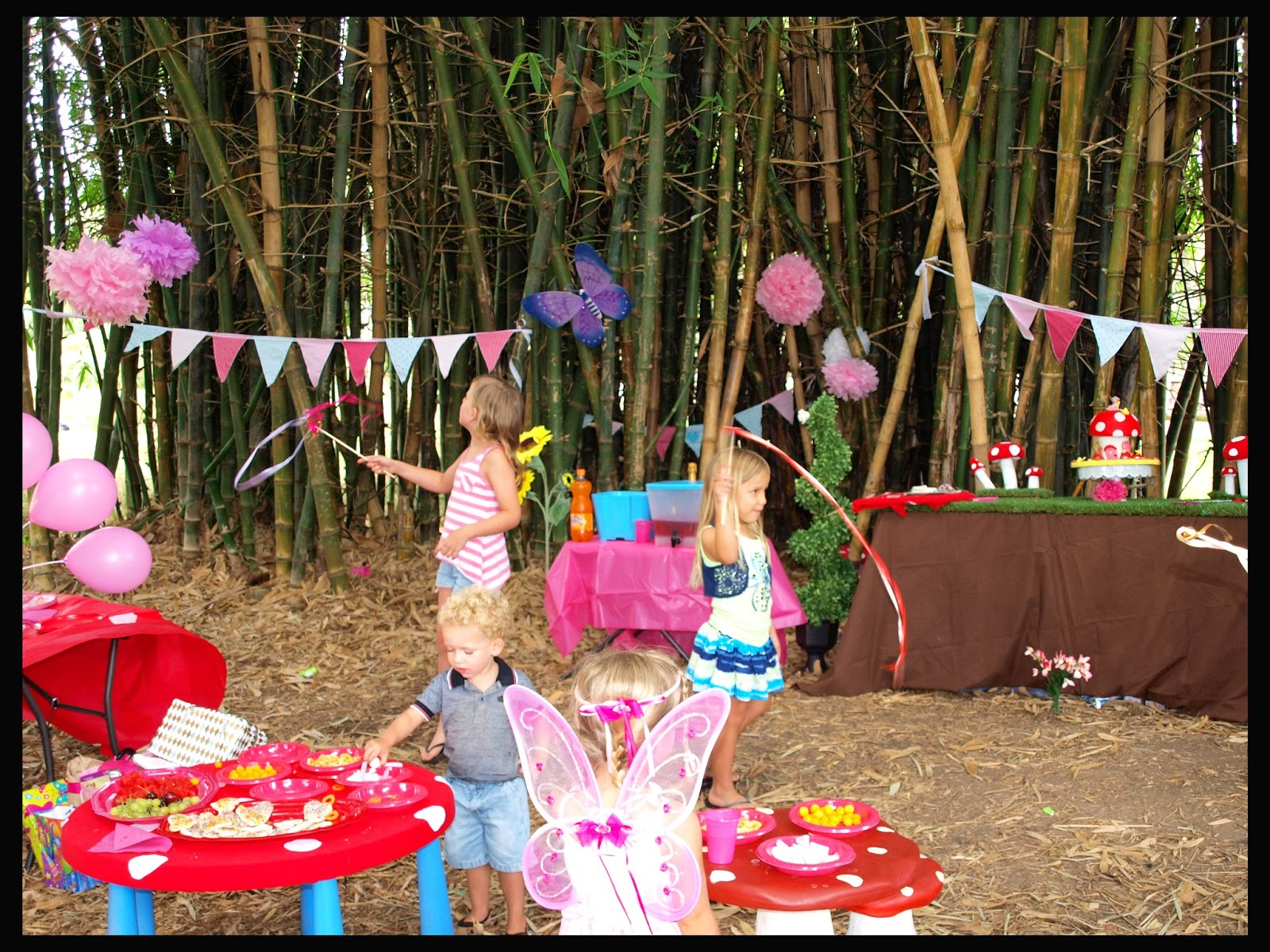 Forever Busy Mum Fairy Enchanted Forest Birthday Party