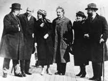 Décès d'Albert Einstein