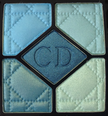 Dior Birds of Paradise Summer 2013 Blue Lagoon 5-Couleurs Eyeshadow Palettes