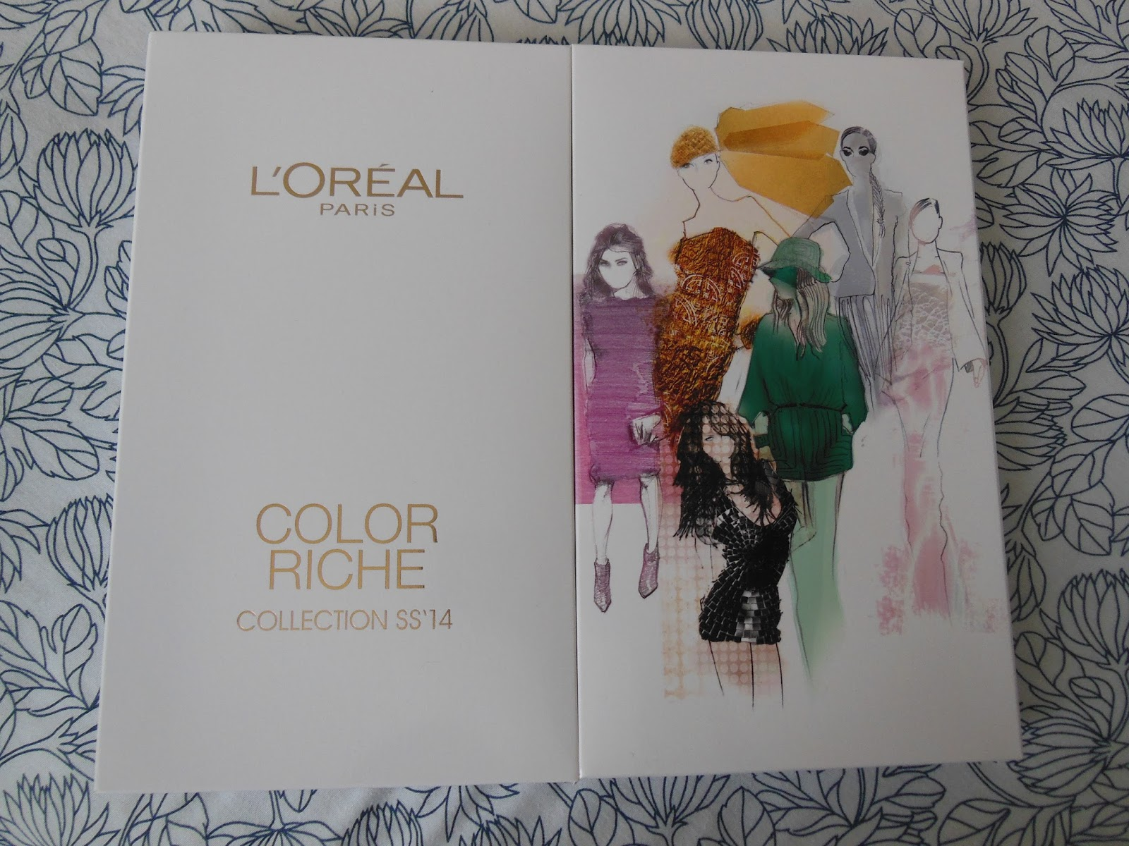 Loreal ss14 nail polishes