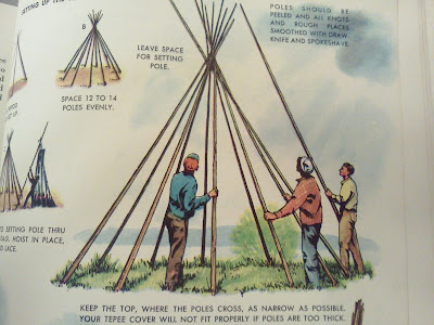 ozark trail teepee instructions