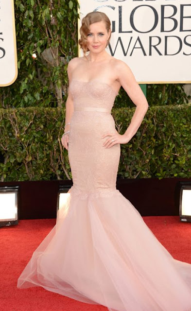 golden globes, 2013 , amy adams, marchesa