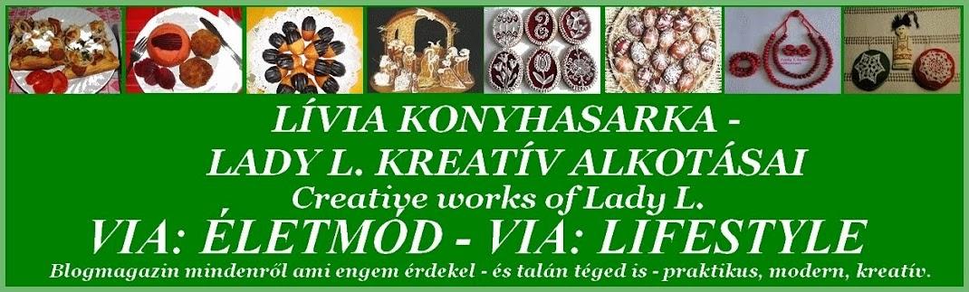 Lívia konyhasarka - Lady L. Kreatív alkotásai - Via:Életmód-Via:Lifestyle