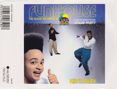 Kid 'N Play ‎– Funhouse (The House We Dance In) (CDS) (1990) (320 kbps)